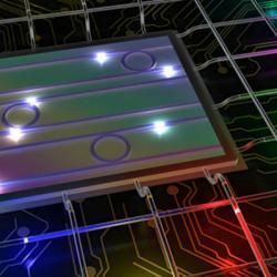 Mnohobarevné fotony změní kvantovou informatiku. Kredit: INRS University.