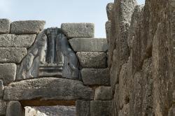 Lví brána, 1250 před n. l. Kredit: Zde, Wikimedia Commons.