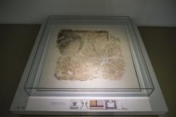 Malba delfínů na štukové podlaze paláce v Tiryntu, 13. století před n. l. Archeologické muzeum v Naupliu. Kredit: Davide Mauro, Wikimedia Commons. Licence CC 4.0.