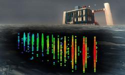 IceCube Neutrino Observatory. Kredit: IceCube Collaboration/NSF.