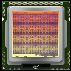 Neuromorfní čip Loihi. Kredit: Intel Corporation.