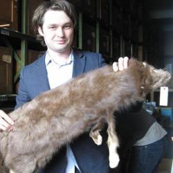 Nikita Zelenkov, paleoornitolog, vedoucí badatelského týmu Ruské akademie věd a první autor publikace.