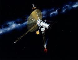 Koncem osmdesátých let navrhly vědci z NASA projekt mise s využitím reaktoru a iontového motoru pro průzkum mezihvězdného prostoru do vzdálenosti 1000 AU od Slunce s názvem TAU (zdroj NASA)