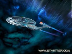 Kapalný antivodík jako zdroj energie používají i mezihvězdné lodi ve filmovém světě Star Trek (zdroj stránky Star Trek)