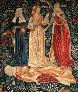 Moiry alias sudičky v letech 1510 až 1520. Kredit: Anonym, Wikimedia Commons.