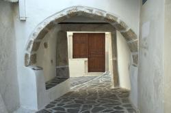 Antické opory ve čtvrti zvané Labyrinth. Kredit: Zde, Wikimedia Commons. Licence CC 4.0.