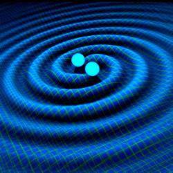 Oscilují gravitační vlny? Kredit: R. Hurt at Caltech-JPL.