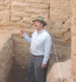 Thomas Parker, archeolog, profesor North Carolina State University