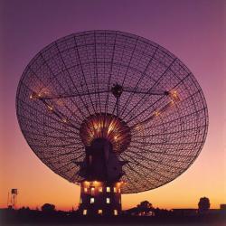 Radioteleskop Parkes. Kredit: CSIRO
