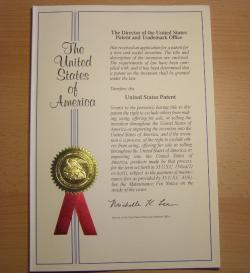 Uděleny patent č. 9,363,984
