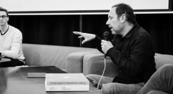 Petr Pokorný popisuje dramatické změny klimatu v minulosti (foto Andrea Malíková).