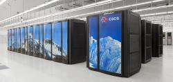 Superpočítač Piz Daint. Kredit: HPC-Ch.