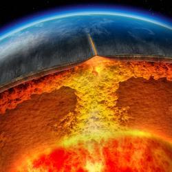 Na Zemi panuje desková tektonika. Kredit: whybecausescience.com.