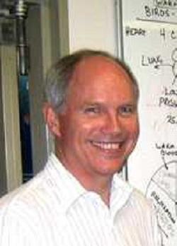 Roger S. Seymour, vedoucí výzkumného kolektivu, profesor na University of Adelaide