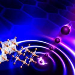 Excitace kvantové spinové kapaliny pomocí spršky neutronů. Kredit: Genevieve Martin / ORNL.