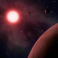 Jak fungují planetární systémy červených trpaslíků: Kredit: NASA / JPL-Caltech.
