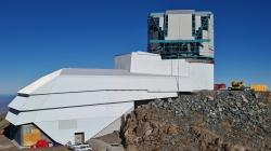 Vera C. Rubin Observatory, 28. srpna 2020. Kredit: Rubin Obs/NSF/AURA