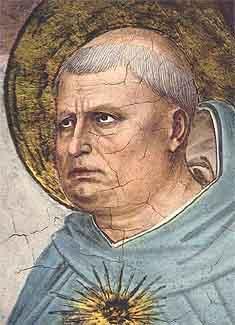Tomáš Akvinský. (Kredit: Fra Angelicokolem 1440, volné dílo).