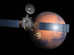 EDM se oddělil od TGO. Zdroj: spaceflight101.com