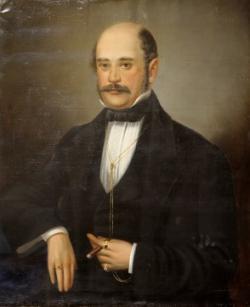 Ignác Filip Semmelweis, vídeňský lékař  (1818-1865). Jako první si všiml, že úmrtnost rodiček je vyšší na oddělení, kde stážují studenti medicíny, kteří se chodí učit na pitevnu. Jeho podezření, že nákaza se šíří v nemocnici se utužilo po smrt jeho kolegy Jakuba Kolečka. Zemřel na infekci poté, co se při pitvě řízl skalpelem. Formuloval zásady antisepse, které byly účinné a staly obecným nemocničním standardem. Kredit: Volné dílo.