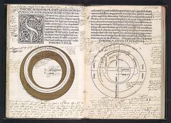 Tractatus de Sphaera, tisk z roku 1485. Metropolitan Museum of Art (New York). Kredit: Pharos, Wikimedia Commons.