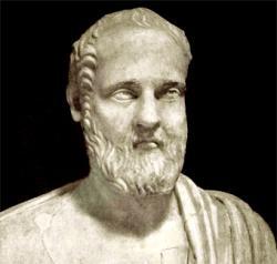 Isokratés (436 až 338 před n. l.). Villa Albani vŘímě. Kredit: Student Vives TVW, Wikimedia Commons.