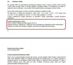 """Nedostatok vitamínu B12 ako vedľajší účinok  je v informácii o preparáte Glucophage pre Slovensko označený za """"veľmi zriedkavý"""". Podobný text je v informáciach pre Česko, ale aj napríklad Veľkú Britániu."""
