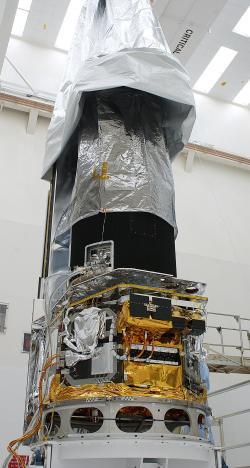 Spitzerův vesmírný dalekohled  Spitzerova vesmírného dalekohledu stála celkem 670milionůamerických dolarů.  (Kredit: NASA)