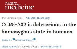 Článek který tvrdil, že poškození genu CCR je u lidí škodlivé, časopis Nature Medicine stáhl.