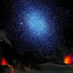 Je vesm�r pln� stealth temn� hmoty? Kredit: LLNL.