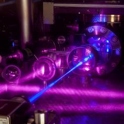 Nejpřesnější atomové hodiny. Kredit: G. Edward Marti/JILA.