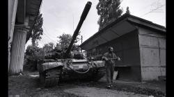 Gruzínsko-abcházský konflikt, 1992–1993. Foto archiv.