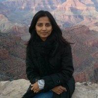 """Sunitha R. Pangala, první autorka publikace odhaující """"skrytou"""" produkci metanu. The Open University, Walton Hall, Velká Británie"""