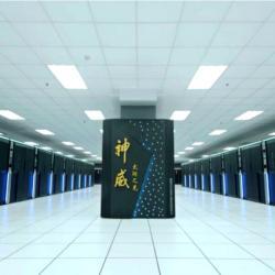 Čínský superpočítač Sunway TaihuLight je v čele žebříčku TOP500. Sídlí v Národním superpočítačovém centru ve městě Wu-si, západně od Šanghaje.