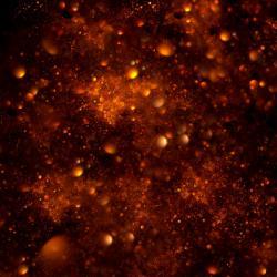 Tvo�� temnou hmotu extr�mn� supert�k� ��stice? Kredit: Hexe78 / deviantart.
