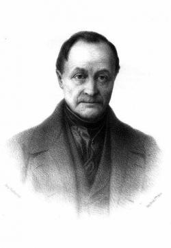 Auguste Comte, klasik pozitivismu, 1798–1857. Kredit: Wikimedia Commons.