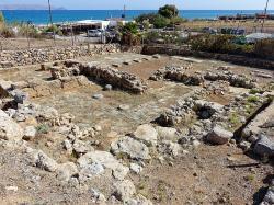 Mínójská vila v Amnissu u dávného přístavu, 16. století před n. l. Kredit: Wikimedia Commons