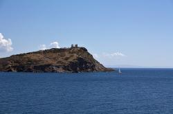 Mys Sunion, Poseidónův chrám, 474-440 před n. l. Kredit: Wikimedia Commons.