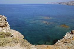 Ariadnin útes Bakcho va mysu. Palatia, Naxos. Kredit: Wikimedia Commons.