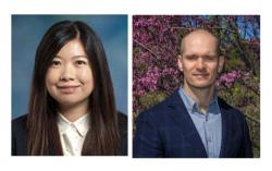 Lin Tian a  David Olson. Vedoucí skupiny, kteří pomocí pozoruhodného biosenzoru psychLight2 odhalili nehalucinogenní antidepresivum AAZ-A-154. Kredit: UC Davis.