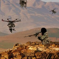 Předchůdce dronů TIKAD využívají izraelské síly. Kredit: Duke Robotics.