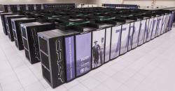 Superpočítač Trinity. Kredit: Los Alamos National Laboratory.