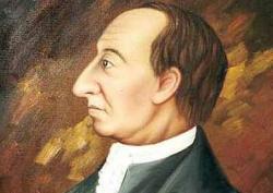 James Hutton na obrazu z 20. let 20. století (Abner Lowe). Kredit: nl.wikipedia via Wikimedia Commons.