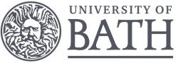 University of Bath, logo.