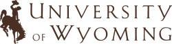 University of Wyoming, logo.