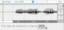 Nová technologie umožňuje upravovat zvukové záznamy snadno a rychle. Změnu stačí vepsat slovně do textu.Kredit: Prof. Adam Finkelstein