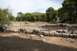 Katagogion (hostel) v Epidauru, 160 pokojů, 5 822 m2. Kredit: Zde, Wikimedia Commons.