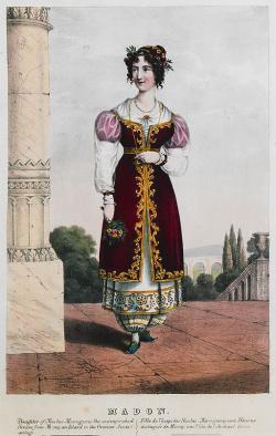 Madó na obrazu z roku 1830 asi v Naupliu. National Museum of History, Athens. Kredit: Adam Friedel, Wikimedia Commons.