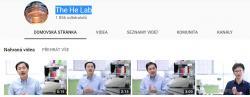 Soubor videí na nichž  Jiankui He se svým kolegou svůj projekt obhajují.