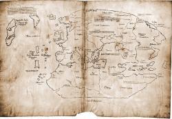 Mapa Vinland, která je údajně mapou z 15. století s předkolumbovským zobrazením severoamerického pobřeží, byla nakreslena moderními inkousty. Kredit: University Press-Yale University.